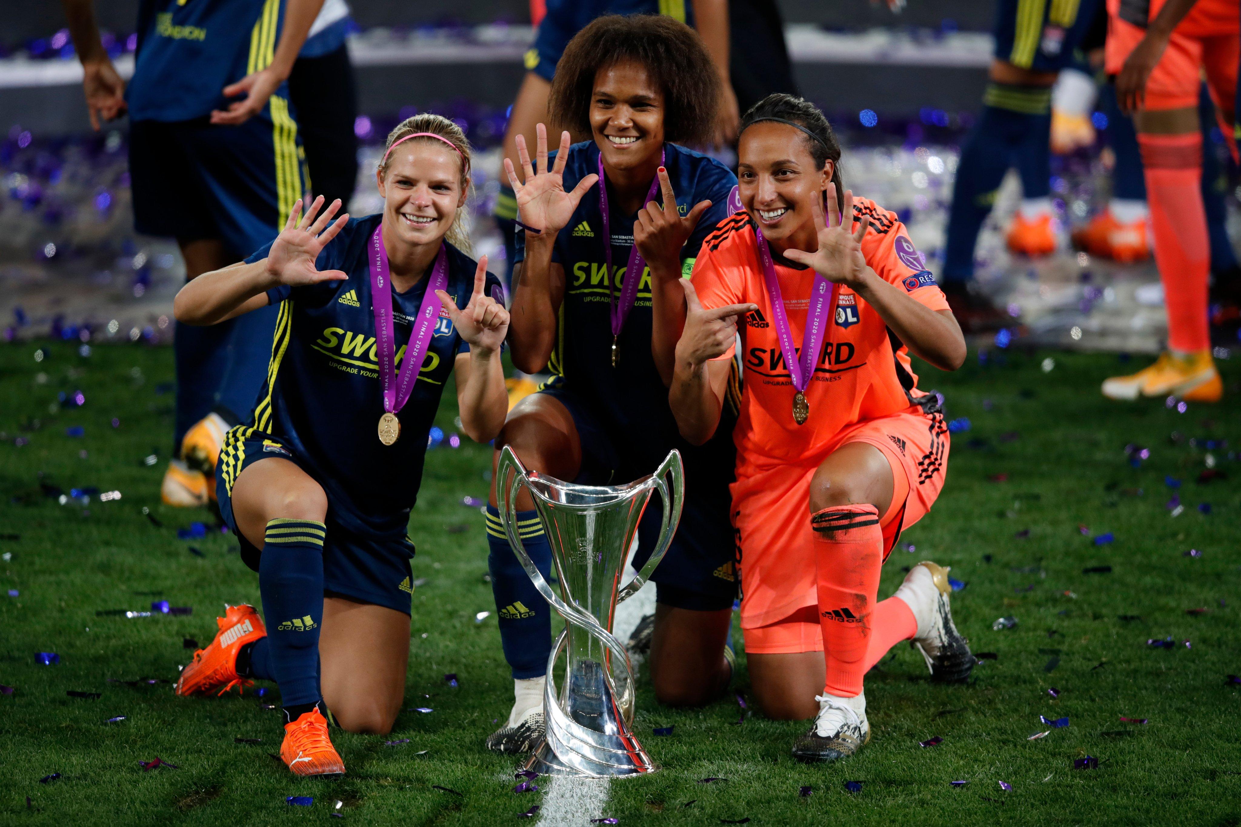 Lyon ratificó su hegemonía en la Champions femenina   Santo Tomé Al Día
